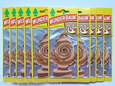 (1,50€/Einheit) 6x WUNDER-BAUM® Melting Caramel Lufterfrischer Duft Karamell