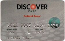 Discover Credit Card ♡Free Shipping