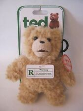 "Ted The Movie) Talking Bear Plush Toy, 6"", WARNING, Not For Children (010-27)"