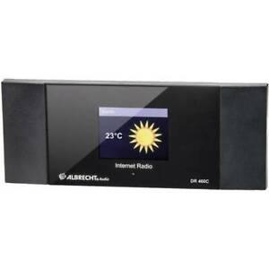 Albrecht DR 460-C Internet Radio-Adapter Internet Internetradio DLNA-fähig
