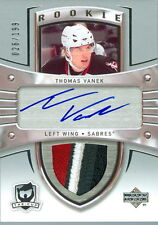 2005-06 THE CUP #175 THOMAS VANEK ROOKIE RC 4 COLOUR JERSEY NUMBER 26/199   1/1