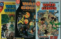 WAR OF THE GODS Collectors Edition #2 #3 #4  Mini Posters Wonder Woman NM E2.433