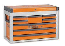 Beta Tools C23sc Orange Toolbox 8 Drawers Portable With Side Handles
