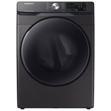 Samsung Black Stainless Steel Gas Steam Dryer