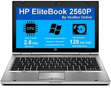"""HP 2560P 12.5"""" Laptop Intel Core i5 2nd Gen 2540M (2.60 GHz) 4GB RAM 128GB SSD"""