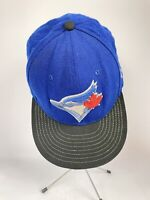 "New Era 59Fifty 7 Toronto Blue Jays Blue MLB Fitted Hat 7-3/4"" 61.5cm"