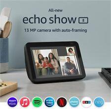 All-new Echo Show 8 HD w/ Alexa 13 MP Camera 2nd Generation 2021 - Charcoal