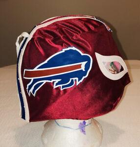 Buffalo Bills Wrestling Luchador Soft Mask NFL Fans Red Blue White Embroidered