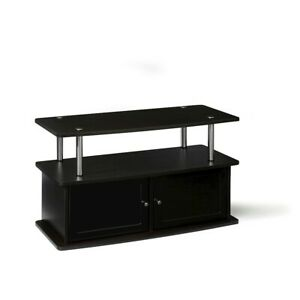 Convenience Concepts Designs2Go TV Stand with 2 Cabinets, Espresso - 151160ES