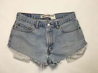 Womens Levi Reworked Denim Hotpants/Shorts - W34 - Navy - Great Condition