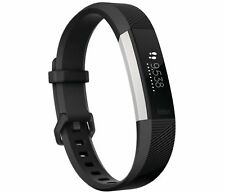 Fitbit Alta HR Fitness Activity Tracker, Size Large - Black