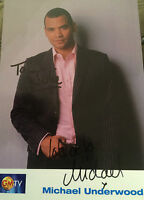6x4 Hand Signed Photo of Michael Underwood   GMTV