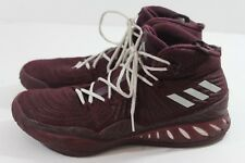 Adidas Geofit Maroon and White Basketball Shoes Size 11.5 (H) 753fe7bd8