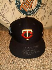 Twins Kyle Gibson Game Used Hat