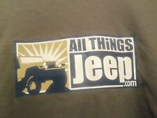 JEEP all things Graphic Jersey XL