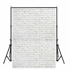 5x7ft White Brick Wall Photography Backdrops Wedding Party Backgrounds Art Photo