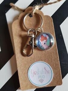 Bambi Deer Fawn Film Animals Disney Love Gift Keyring Bag Charm Gift Tag