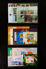 Thailand Mint Stamp Lot Sheets And Sets Collection
