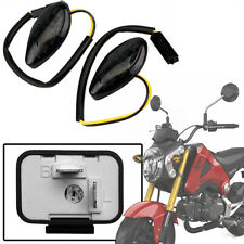 LED Turn Signal Light w/ 2 Pin Adjustable Flasher Relay for 14-19 Honda Grom 125