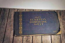 Mit Eckstein durch die Welt Inland 1929 komplett Zigarettenbilderalbum rar