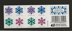 2015 Forever Snowflakes full Booklet of 20 Scott #5034b, Mint NH