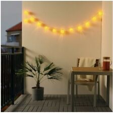 SOLVINDEN LED Lighting Chain 3.6 m Outdoor 12 Lights Battery Operated 304.530.52