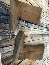 Ugg boots, classic style, tan, size 8