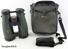 Vixen 14509 prismáticos New foresta caza a distancia de vidrio 8x56 verde + bolsa transporte & Correa