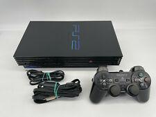 Playstation 2 PS2 FAT Konsole schwarz SCPH-50004 mit Zubehörpaket