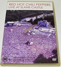 RED HOT CHILI PEPPERS - Live In Slane Castle-- (DVD, 2003)
