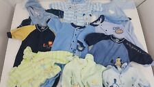 10 Piece Lot - Size 3 Months Boy's Baby Clothes Fleece One pieces Footed Pajamas