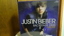 Justin Bieber Backstage Pass Board game, NEW in original package