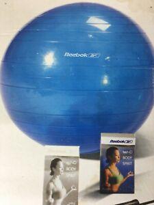 "Reebok  Ball . Anti-Burst Exercise Body Ball 65cm REEBOK ""Blue"""