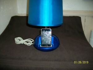 Used 8gb's Ipod Touch W/Ihome Charging Station Speakers Lamp FROM Estate/Storage