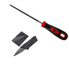Black Diamond Griptape File Skateboard Grip Tape Application Skate Tool & Knife