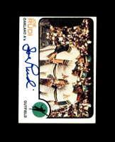 Joe Rudi Hand Signed 1973 Topps Oakland Athletics Autograph