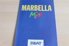 111079) Seat Marbella - Mio - Prospekt 10/1993