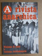 Rivista Anarchica n°9 1977 Processo di Catanzaro - Gramsci Togliatti Berli [C89]