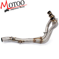Motorcycle Exhaust System Header Pipe FOR Yamaha MT09 FZ09 2014-2018 None Tracer
