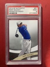 Rory Mcilroy 2014 UD SP Authentic Golf Extended Rookie Card R1 PSA 9 Mint