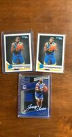 (3) Panini Donruss Basketball ERIC PASCHALL Rated Rookie Jersey Relic LOT INVEST