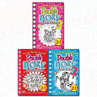 Double Dork Diaries 2 in 1 By Rachel Renee Russell 3 Books Collection Set New UK