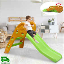 New ListingIndoor Outdoor Kids Play Slide Set Climber Playset Playground for Toddler Baby