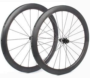 Bontrager Aeolus 5 Team Roubaix Tubular Wheelset // 700c Shimano 9/10/11 Speed