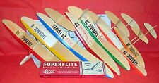 Vintage THERMIC 18, 20, 30, B, TRIO, ROG Model Airplane PLANS + Many Articles