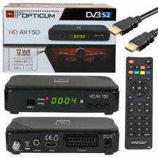 HDTV FULL HD Digital Sat Receiver OPTICUM AX150 AX 150 HDMI DVB-S2 USB 1080p s60