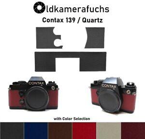Contax 139 Quartz  Belederung / Kameraleder / Camera Leather Replacement