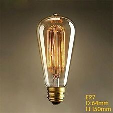 Tube 220V with Filament Light Bulbs