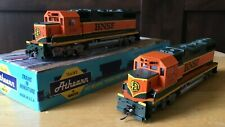 Athearn blue box dummy GP38-2  BNSF x2 engines #2099 used condition