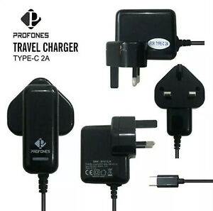Genuine ProFones Mains Charger Type-C For Samsung Galaxy S8 S9 S10 5G S20 ULTRA